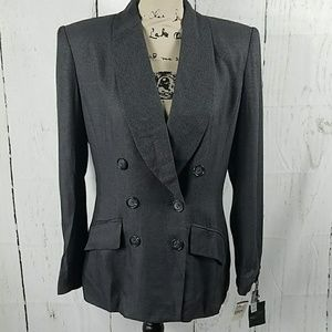 Kasper for A.S.L vintage double breasted blazer 8